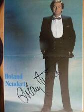 - ta-Roland Neudert-Periódico Imagen 20x29 cm firmado (048)