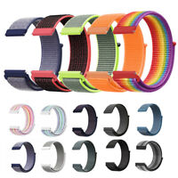 22mm Universal Woven Nylon Sport Loop Watch Band Strap Quick Release Spring Pins