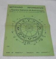 NOTIZIARIO INFORMATIVO del CENTRO ITALIANO di ASTROLOGIA-ANNO I° N°1 - DIC. 1970