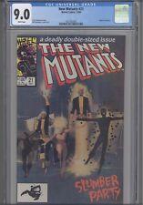 New Mutants #21 CGC 9.0 Marvel 1984 Comic: Origin of Warlock: New Frame