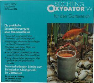 Abverkauf Söchting Oxydator W für den Gartenteich Sauerstoffversorgung Teiche