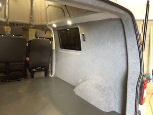 VW T5 T6 SWB Premium Carpet lining & insulation service - South East