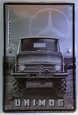 UNIMOG , BLECHSCHILD Mercedes-Benz