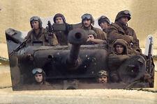 "Brad Pitt in US Army WW2 Movie ""Fury"" Tabletop Display Standee 9 1/2"" Long"