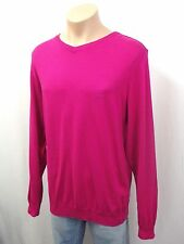 NEU PAUL&SHARK Yachting Designer Pullover Gr.L 50-52 100% Baumwolle Fuxia Pink