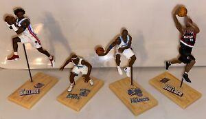 Lot of 4, 3 inch McFarlane NBA Series 2003-05 Action Figures (Baron Davis)