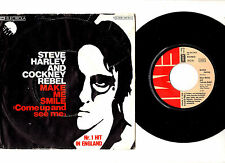 "STEVE HARLEY & COCKNEY REBEL.MAKE ME SMILE.GERMAN ORIG 7"" & PIC/SL.EX"