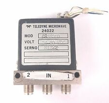 TELEDYNE MICROWAVE Coaxial Relay CS33S6D to 22 GHz 24 - 30 V DC