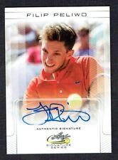 Filip Peliwo #BA-FP1 signed autograph auto 2017 Leaf Tennis Base Card
