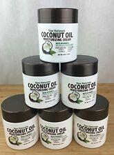 6 X Spa Naturals Coconut Oil 6 Oz Coconut Moisturizing Cream Vitamin E Dry Skin