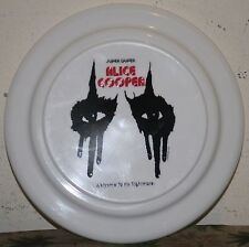 Alice Cooper NEW  Promo Frisbee R@RE. w/original plastic bag. Super duper !