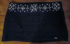 NWT Hollister Juniors size 1 crochet Skirt w/ gold studs & rhinestones $49.50