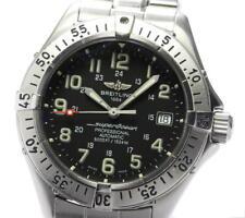 BREITLING Super Ocean A17045 Date black Dial Automatic Men's Watch_560464