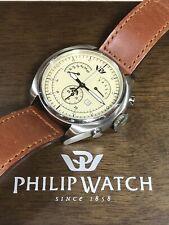 PHILIP Watch Saetta Swiss Men's Chronograph Quartz Watch R8271904145 10ATM 45mm