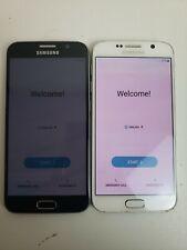 Lot Oof Two! Samsung Galaxy S6 -Sm-G920P - 32 Gb - Sprint Smartphones