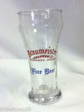 Braumeister beer glass Milw vintage glassware brewery bar tavern barware UB2