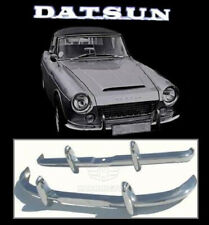Brand new Datsun Fairlady Roadster stainless steel bumpers
