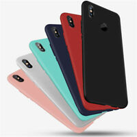 For Xiaomi Mi 8 Pro A2 Lite F1 Shockproof Silicone Gel Soft Matte TPU Case Cover