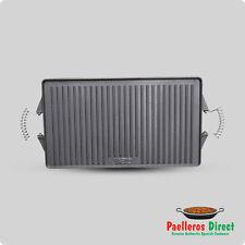 Rectangular Cast Iron Griddle Plate / Skillet / BBQ - 47cm x 27cm