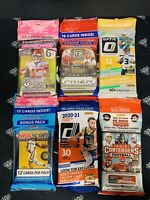 2019-20 NBA NFL Sealed Cello Fat Packs - Take Your Pick