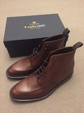 Loake 1880 Anglesey Boots, Oxblood, UK 10 F, New With Box RRP £245