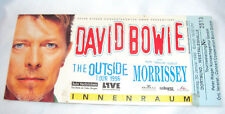 David Bowie Concert 1996 Ticket Eintrittskarte Dortmund Westfalenhalle 30.2.1996