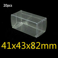 20/25/50x 1:64 Protector Case Display Box For Matchbox 41*43*82mm For Tomica Toy