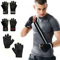 Workout Weight Lifting Body Building Exercise Training Fitness Wrist Gym Gloves