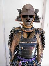 ORIGINAL EDO PERIOD JAPANESE SUIT OF ARMOUR, WITH LACQUERED CASE, C1690'S