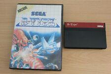 R Type Sega Master System PAL