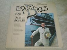 E. Power Biggs Plays Scott Joplin On The Pedal Harpsichord LP Columbia Ragtime