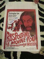Rasputin,The Mad Monk-Christopher Lee, Barbara Shelley