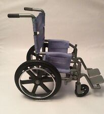"""AMERICAN GIRL Lavender  Grey/Silver Colored Wheelchair for 18"""" Doll Retired EUC"""