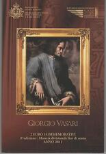 2 Euro commémorative de Saint-Marin 2011 Brillant Universel (BU) -Vasari Giorgio