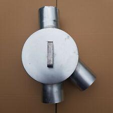 Regenwasserklappe Regenrohrklappe Wasserweiche verzinkt 6-tlg/100mm