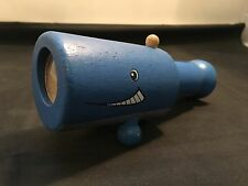 Plan Toys Wood Crafted Whale Design Telescope Eco Toy for Babies & Young Ones