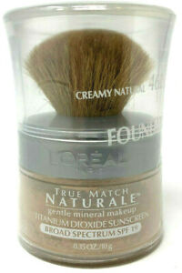 Loreal True Match Naturale Mineral Foundation Sealed 462 - Creamy Natural