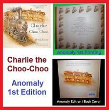 FREE SHIPPING! Stephen King Rare 1st Print ANOMOLY Dark Tower CHARLIE CHOO CHOO