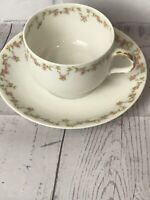Theodore Haviland Limoges Tea Cup And Saucer