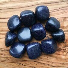 Large Blue Goldstone Tumblestones 100g Wholesale Crystal Therapists Healers