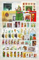 HUNGARY - 1990. Complete year set of 55 stamps and 6 s/s - MNH