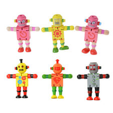 Creative Wooden Robot Learning & Educational Kids Early Learning Toy  PL