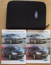 FORD GALAXY S-MAX manuale proprietari manuale WALLET 2015-2017 Pack