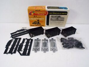 ROUNDHOUSE 1501 3X 22F OLD TIMER WOOD CHIP CARS KIT NOS MIB (C73)