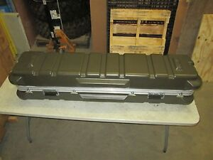 Thermodyne Shok-Stop 60X14X14 Hinged Lid Gun Size Shipping Storage Hard Case NIB