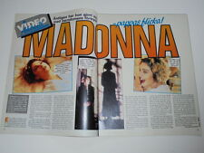 Madonna Alice Cooper Leila K Candlemass cuttings clippings Sweden