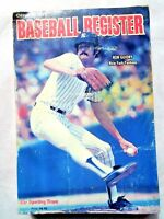 1979 Sporting News Baseball Register Book  Ron Guidry, New York Yankees Cover