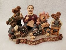 Vtg 1998 Limited Ed No 6845 Boyds Bears & Friends Work Is Love Made Visible