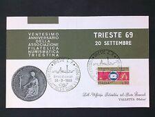 ITALIA 1969 TIRESTE TRIEST COVER d2817
