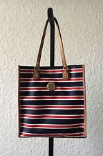 Authentic NWT Tommy Hilfiger Shoulder Handbag Striped Red, White and Blue